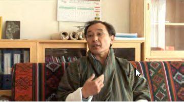 ダショー・キンレイ・ドルジ 国民総幸福量(GNH)を提唱したブータンの王国政府情報通信省高官。